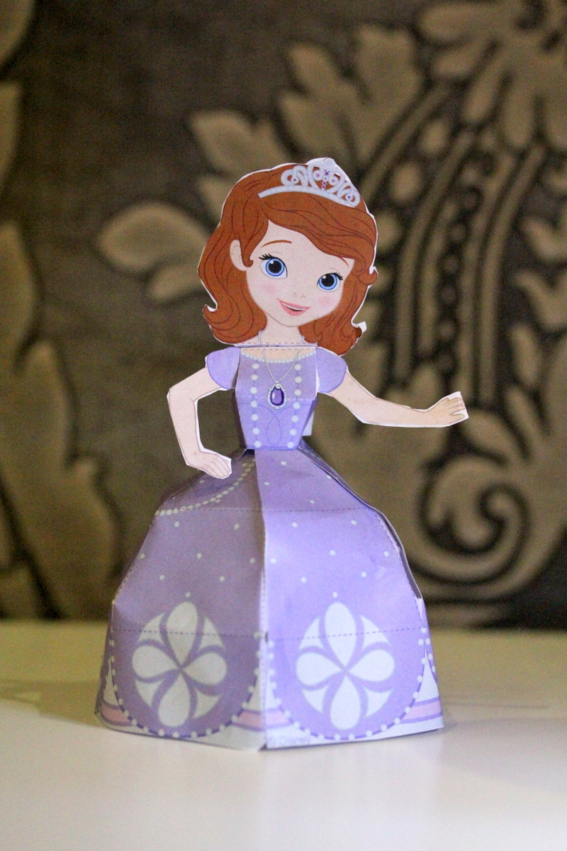 Sofia the First Paper Doll