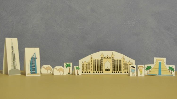 Dubai City - kids travel pack