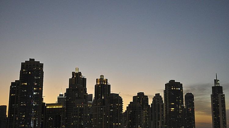 Look Up: Dubai Skyline