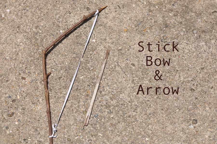 Stick Bow & Arrow