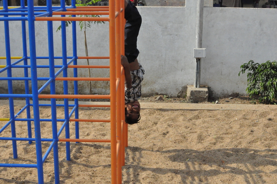 The kids said they wanted somewhere place to stay. - Playground in Raipur