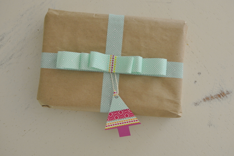 Washi Tape wrapping paper ideas