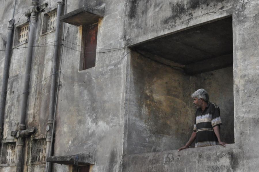 Slums in Raipur, India