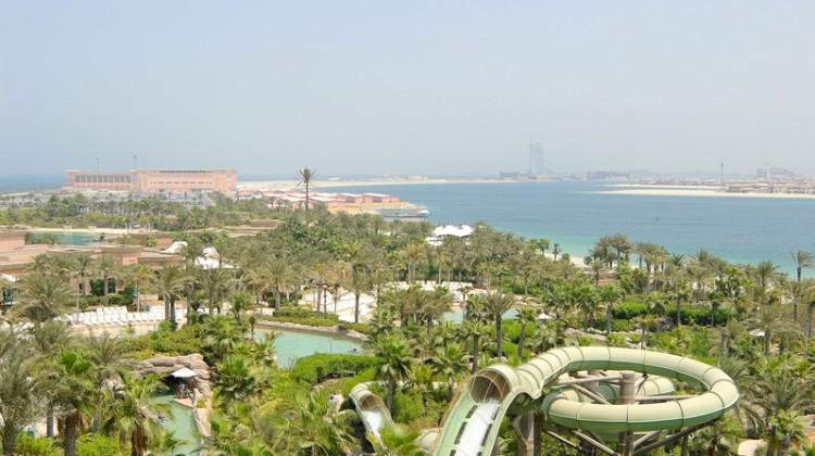 CRAZY Slide at Aquaventure Waterpark: Dubai
