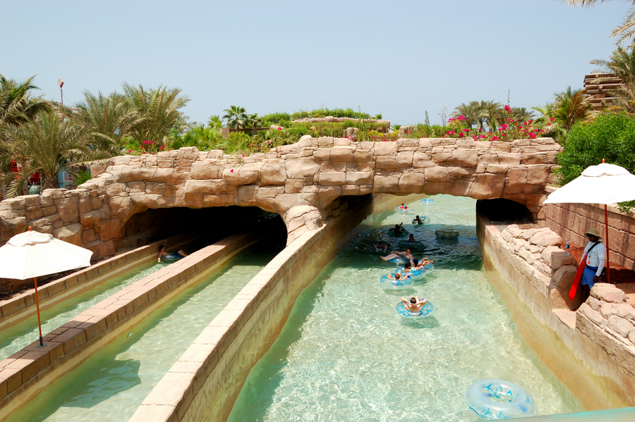 Aquaventure Waterpark - Dubai - River Rapids