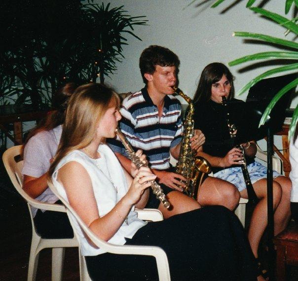 clarinet, saxophone, flute