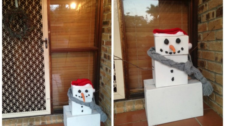 Do you want to build a (box) snowman?