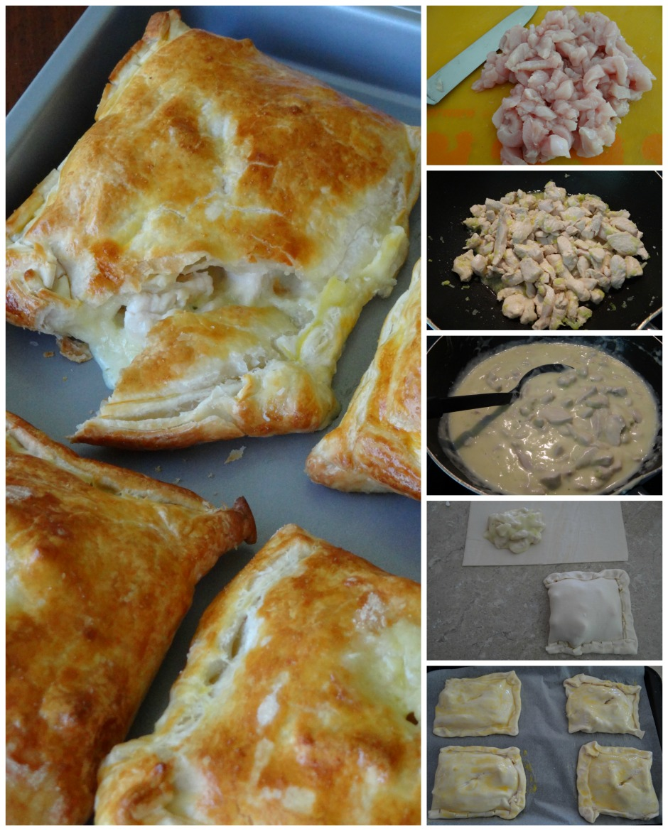 Chicken & Leek Parcels