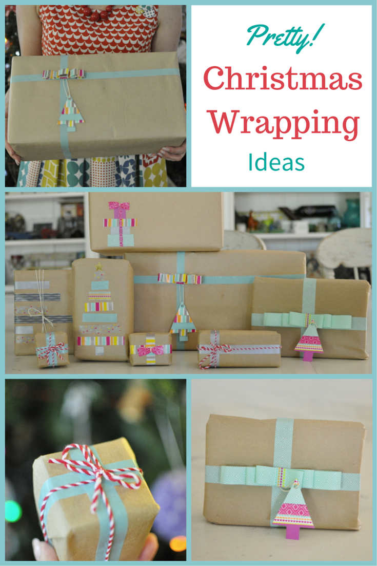 Christmas Wrapping Ideas (using Washi Tape)