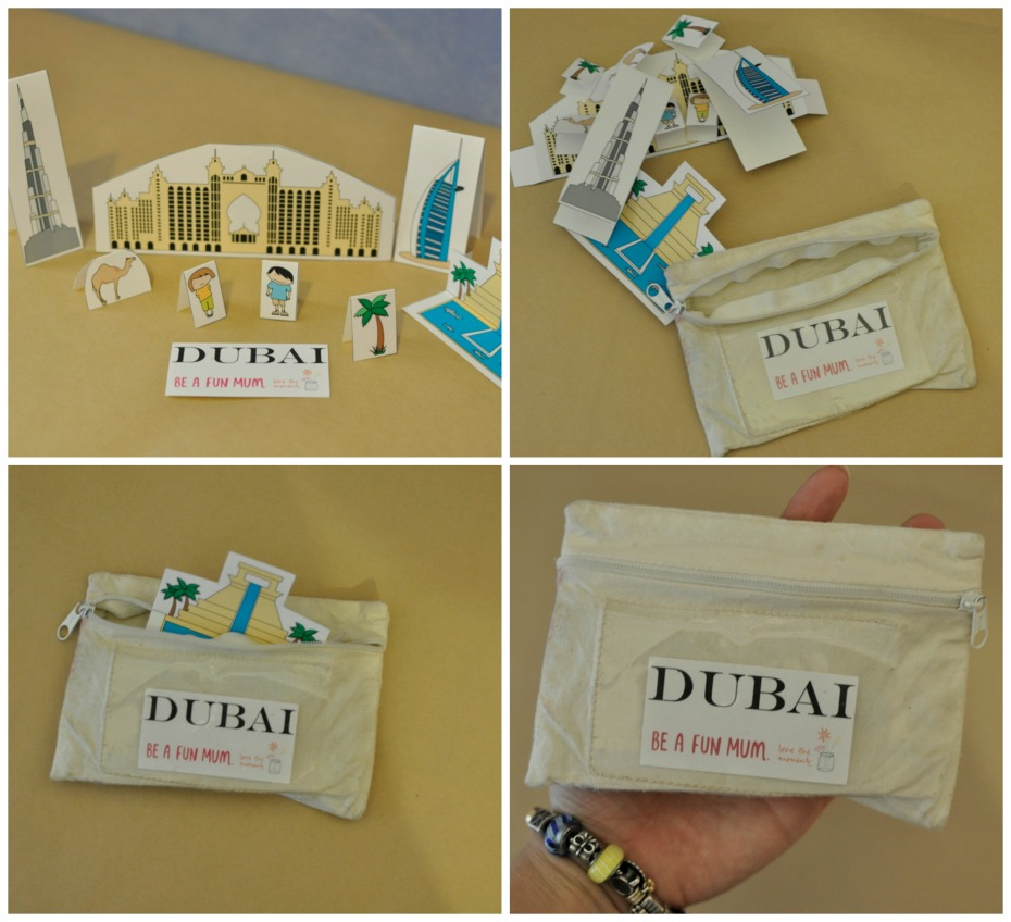 Dubai City - kids travel pack