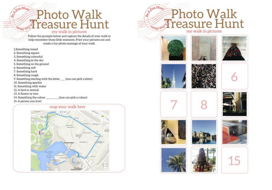 Treasure Hunt Photo Walk