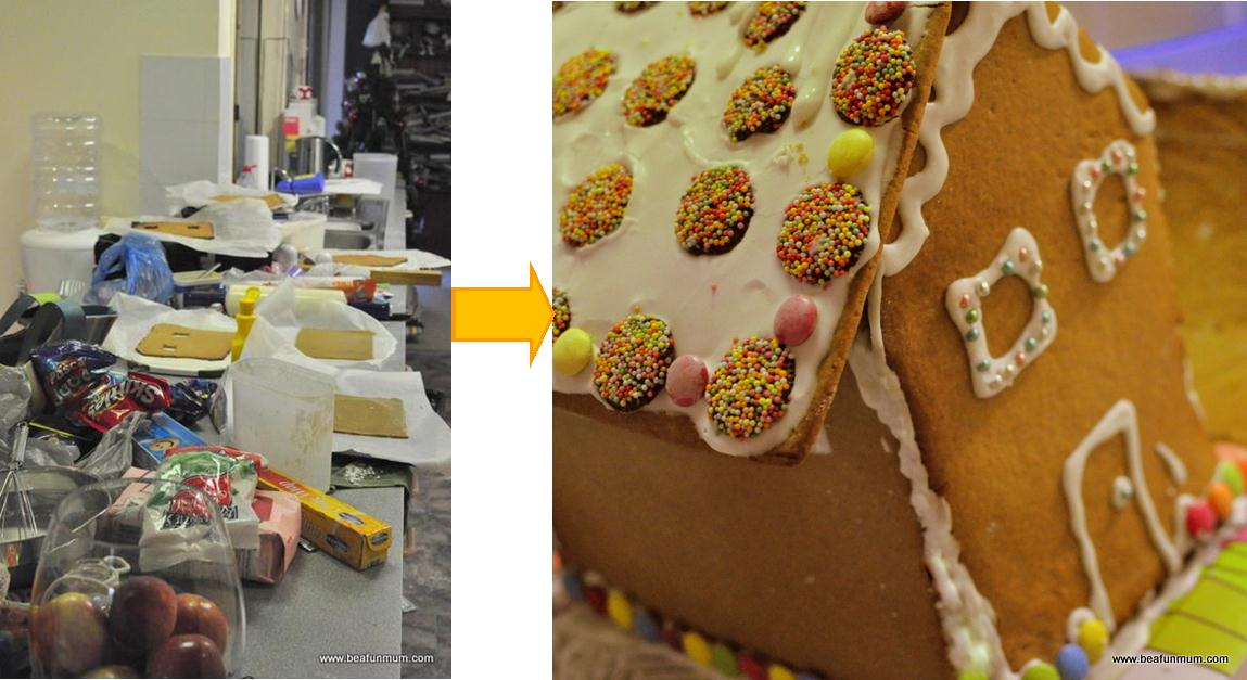 Making a Gingerbread is very hard!