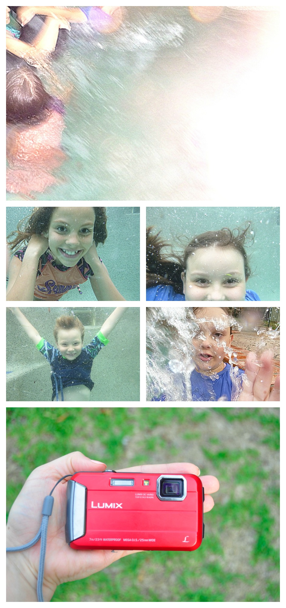Panasonic Lumix FT25 waterproof camera  - Underwater photos