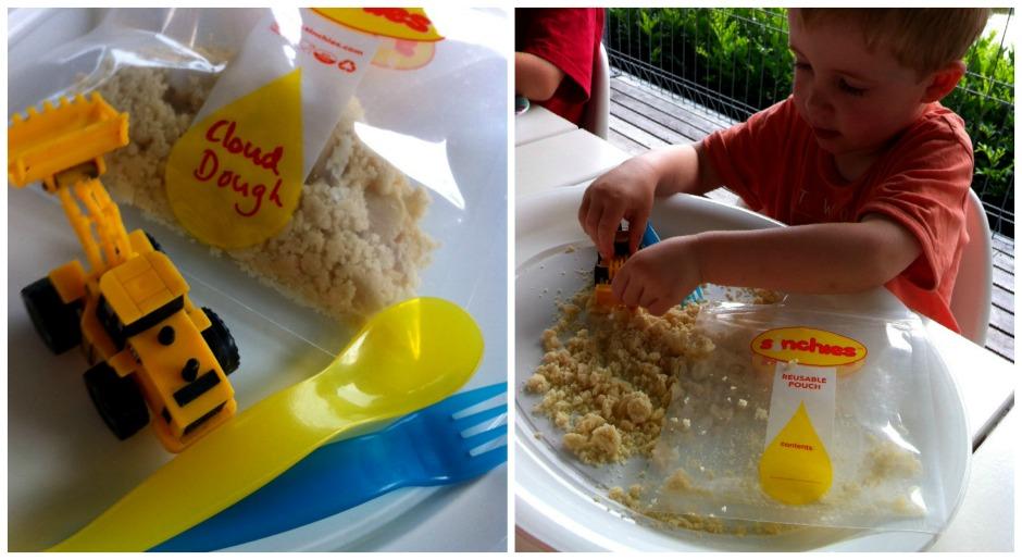 Play Idea - Cloud Dough