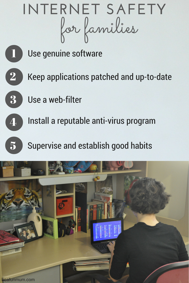 Family Internet Safety Tips