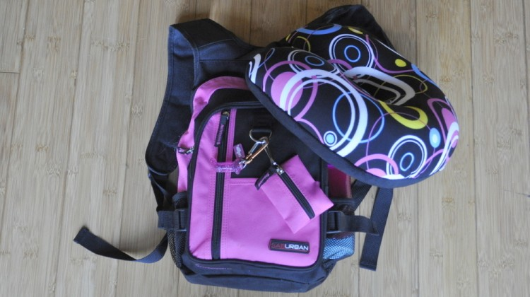 What to take in a kids backpack when travelling