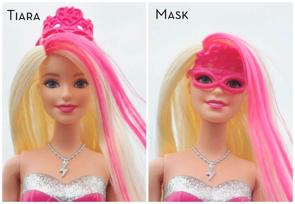 Barbie Princess Power Mask Tiara