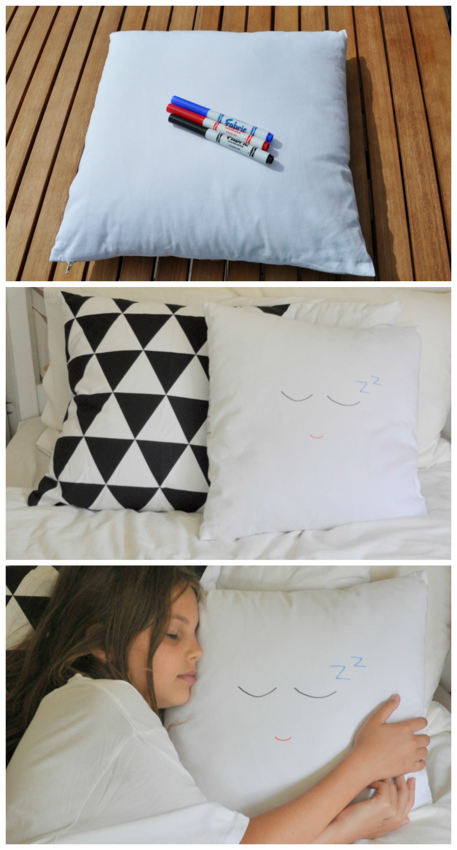 Cute zzzzz cushion