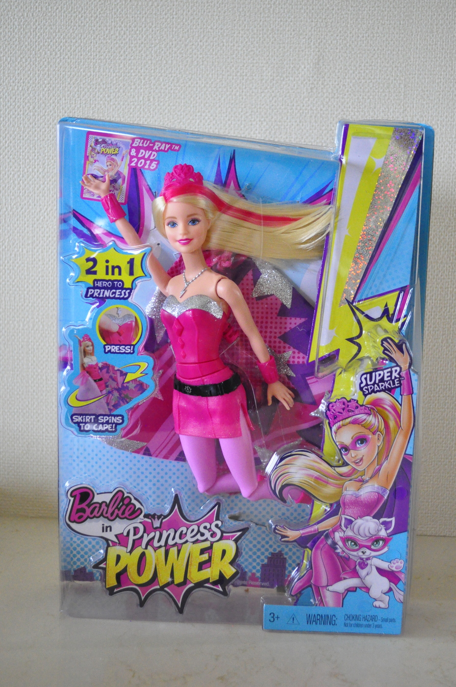 Super Sparkle Barbie - Barbie in Princess Power Doll