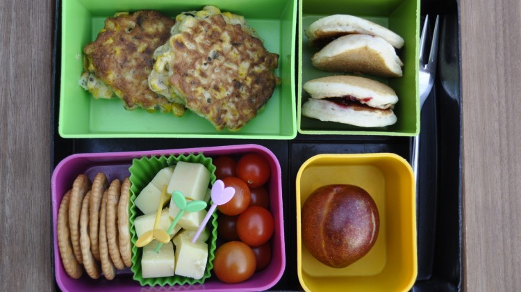 Pretty Lunches: What they look like at lunch time