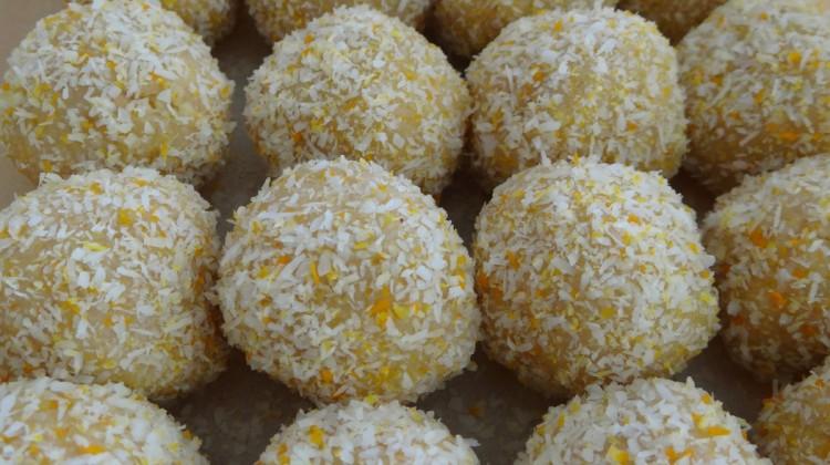 Lemon Cake Balls (no bake)