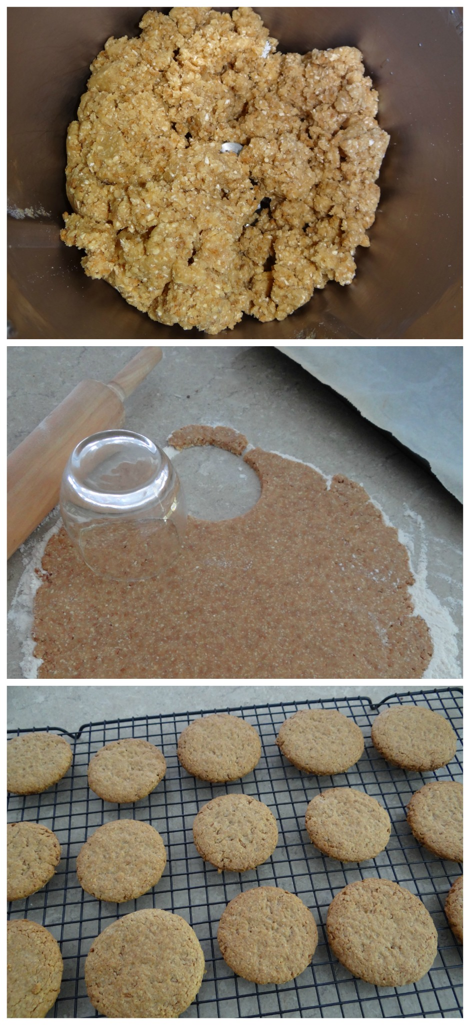 Oat & Bran Cookies - Great for the lunch box