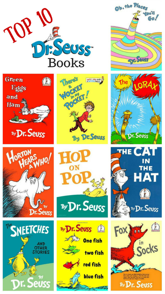 Top 10 Dr Seuss Books on Best Dr Seuss Images On Pinterest Suess Childhood Activities