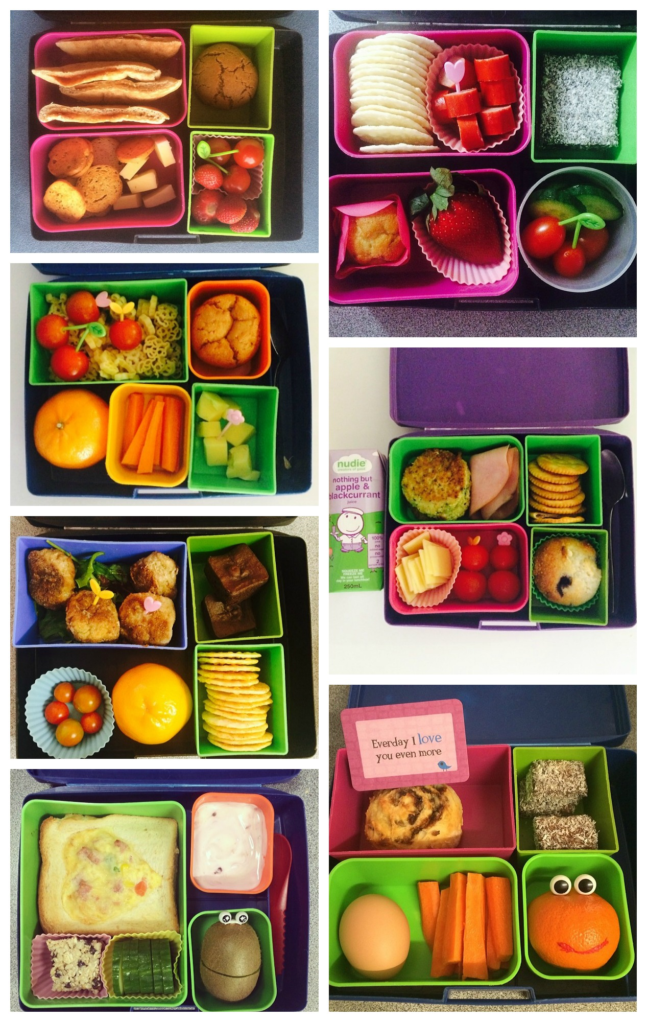 food picks - easy way to make lunch boxes fun