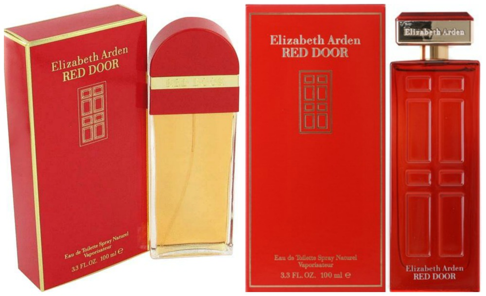 red door old and new packaging