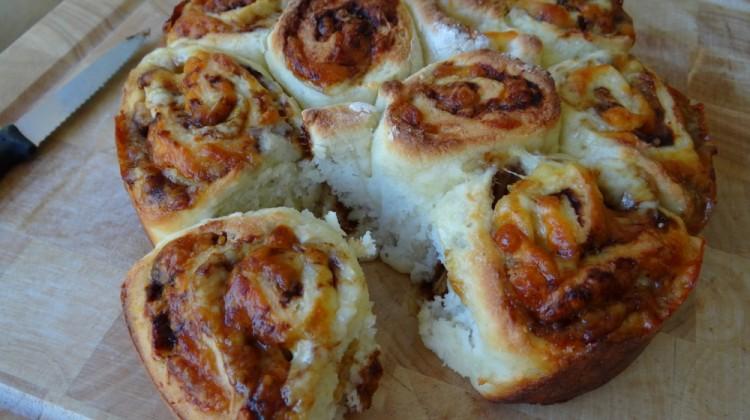 Vegemite and Cheese pull apart recipe