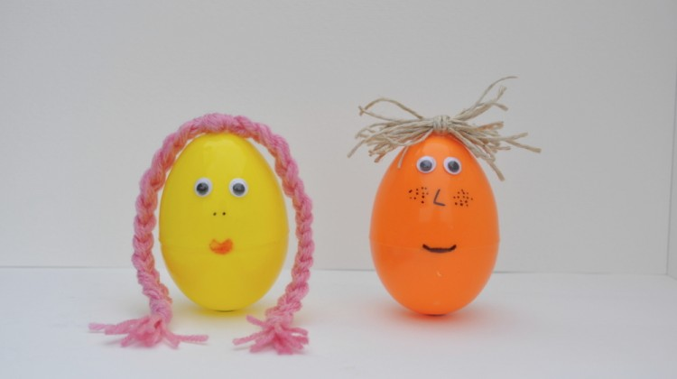 Plastic Egg Faces
