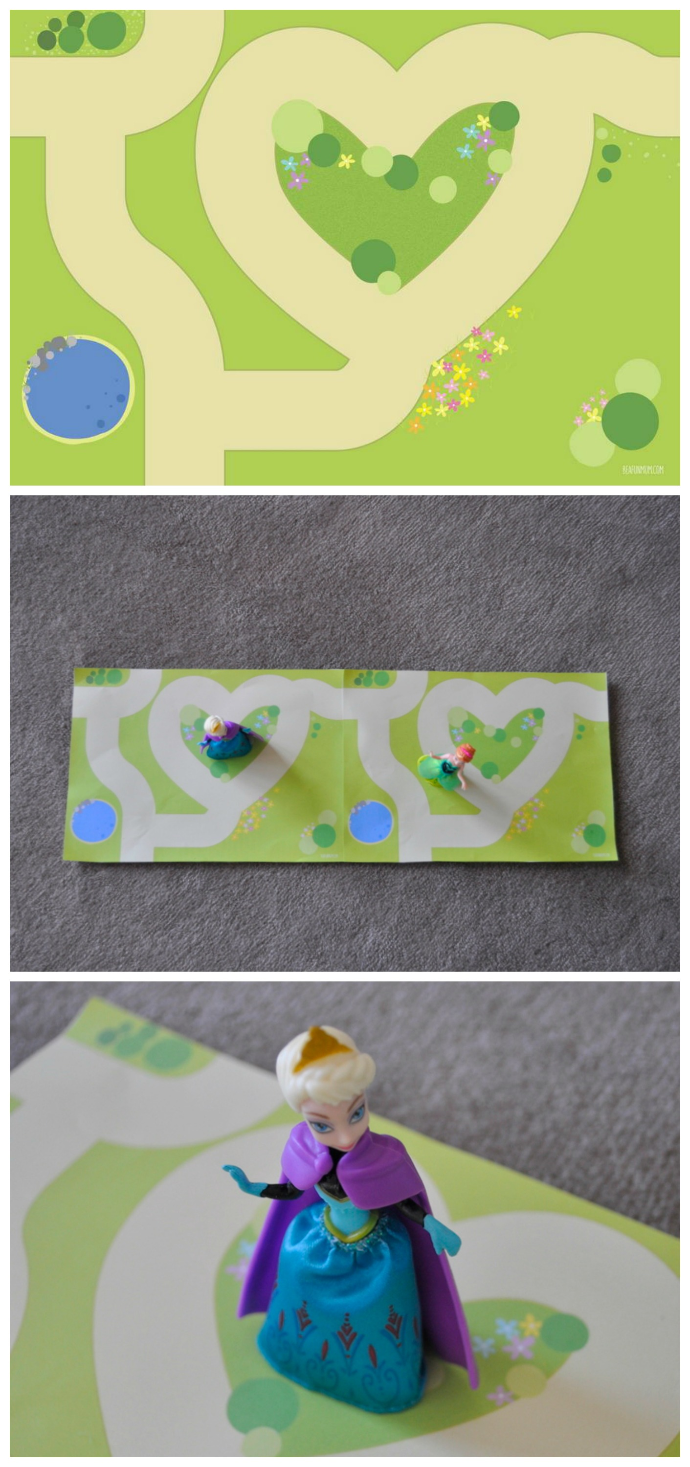 Printable Play Mat - Garden