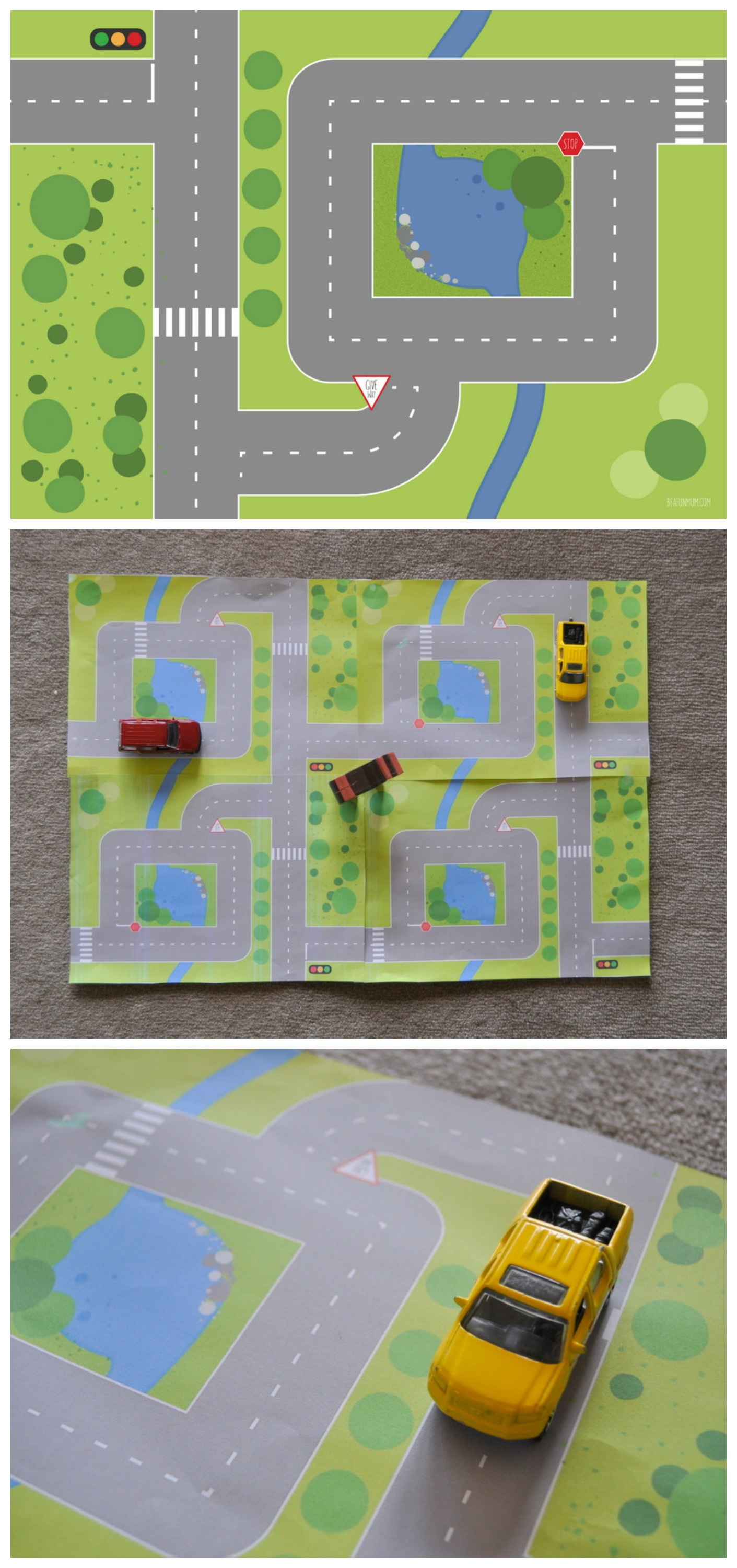 graphic about Printable Floor Mats named Printable Street/Backyard Enjoy Mats Be A Pleasurable Mum