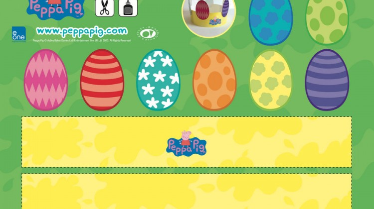 Peppa Pig Easter Craft & Activities
