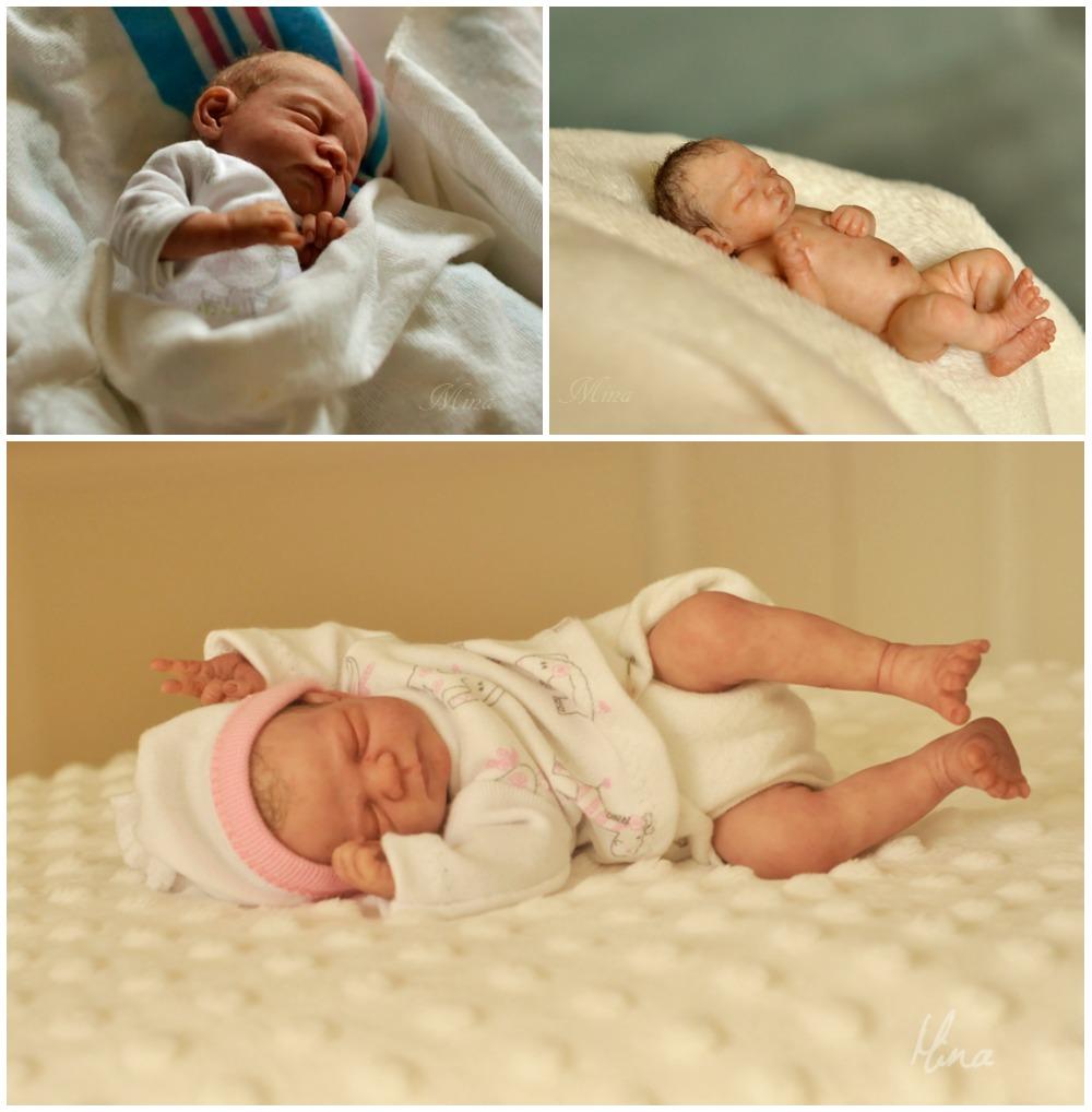 Incredible miniature baby sculptures