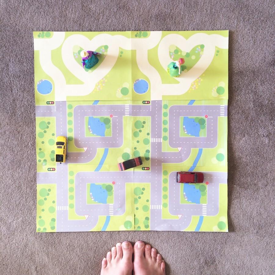 Printable play mats
