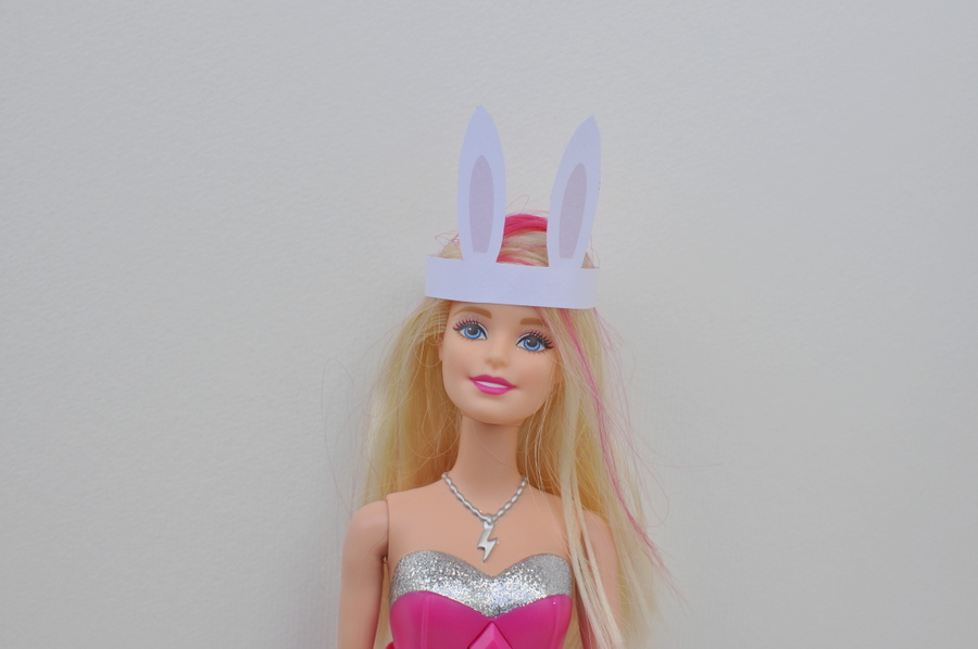 Barbie Bunny Hat Printable