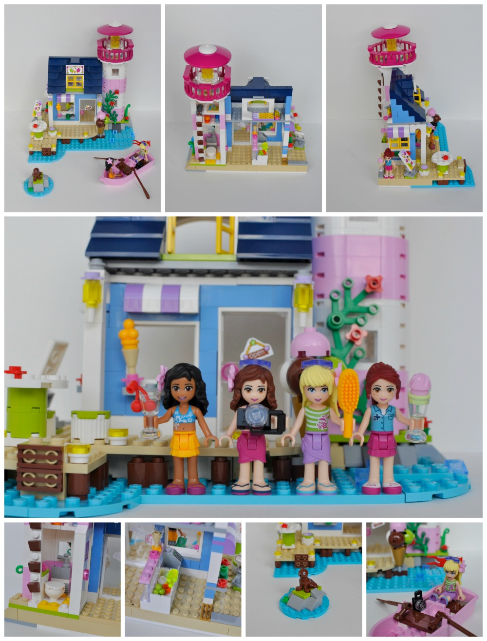 Lego Friends Heartlake Lighthouse Review (41094)