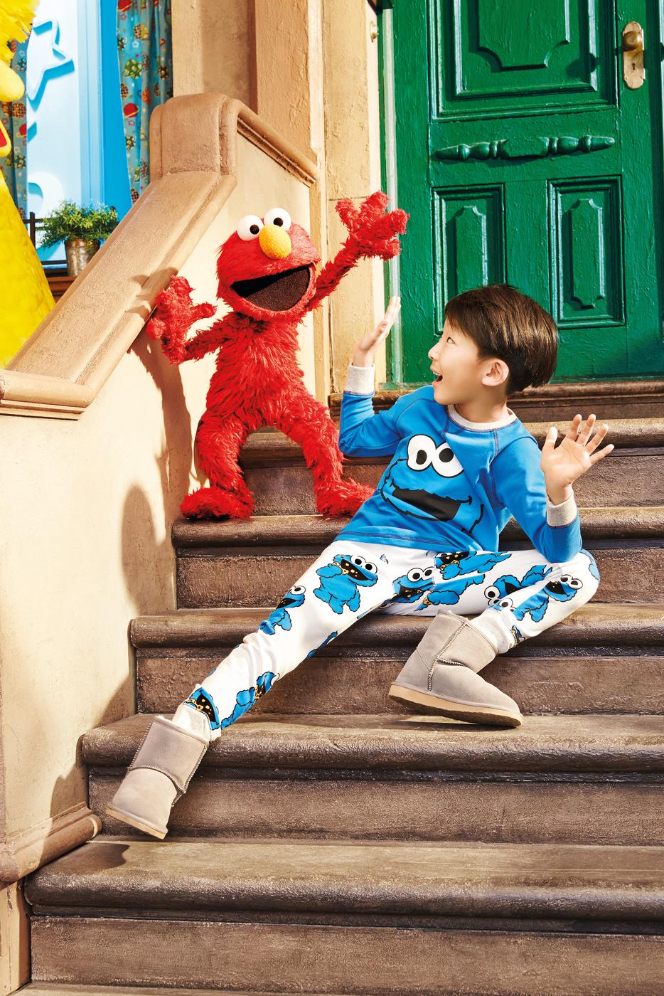 Sesame Street pyjamas Peter Alexander