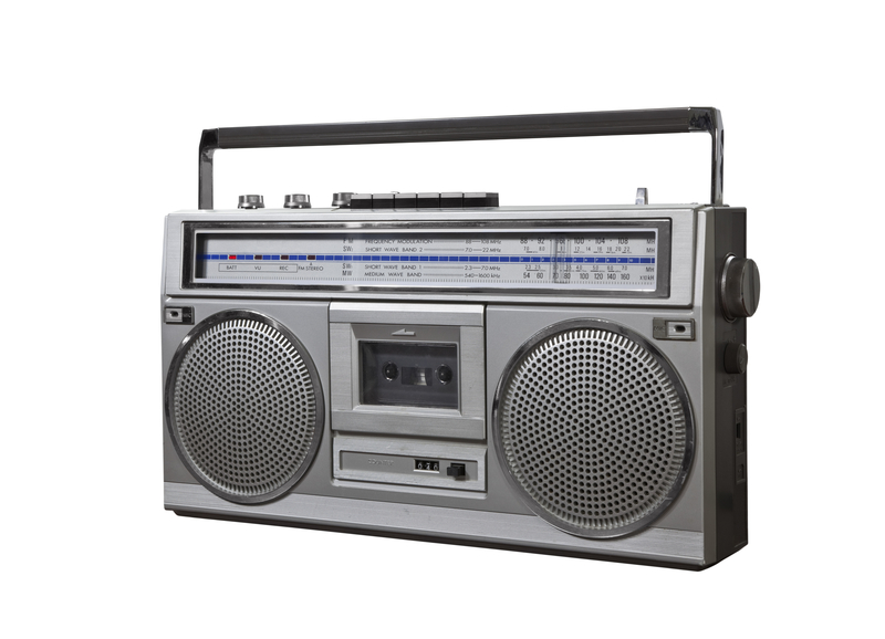 Vintage Boom Box Portable Radio Cassette Player