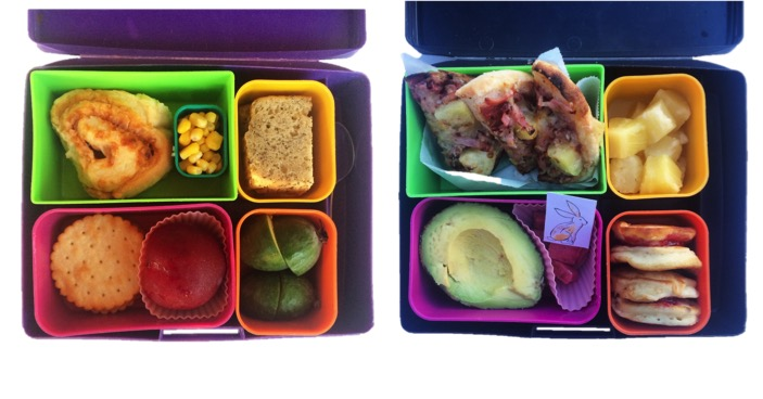 Lunch box food idea