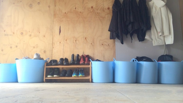 School Bag Station – Rubber Tubs