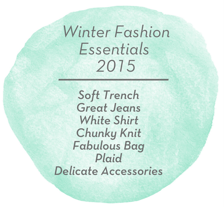 Winter Fashion Essentials 2015