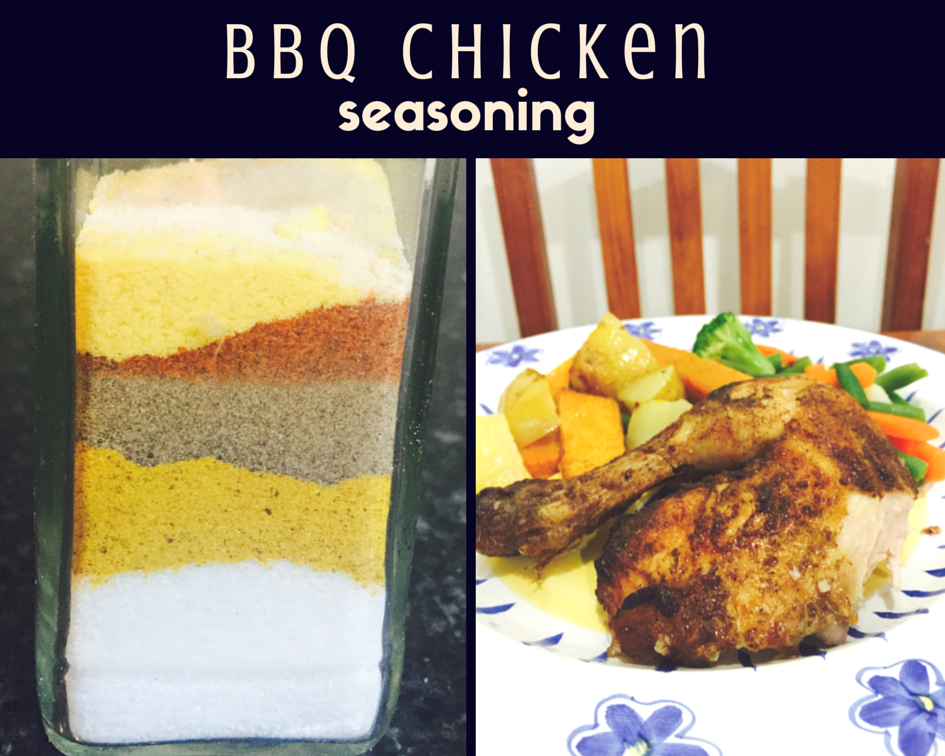 Make your own BBQ Chicken seasoning