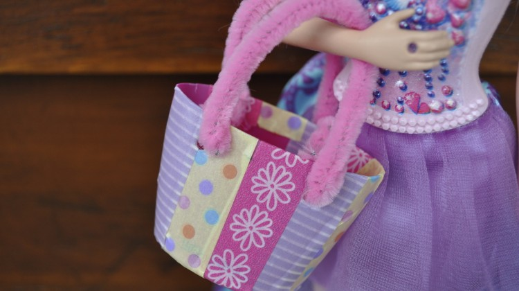 DIY Barbie Tote Bag
