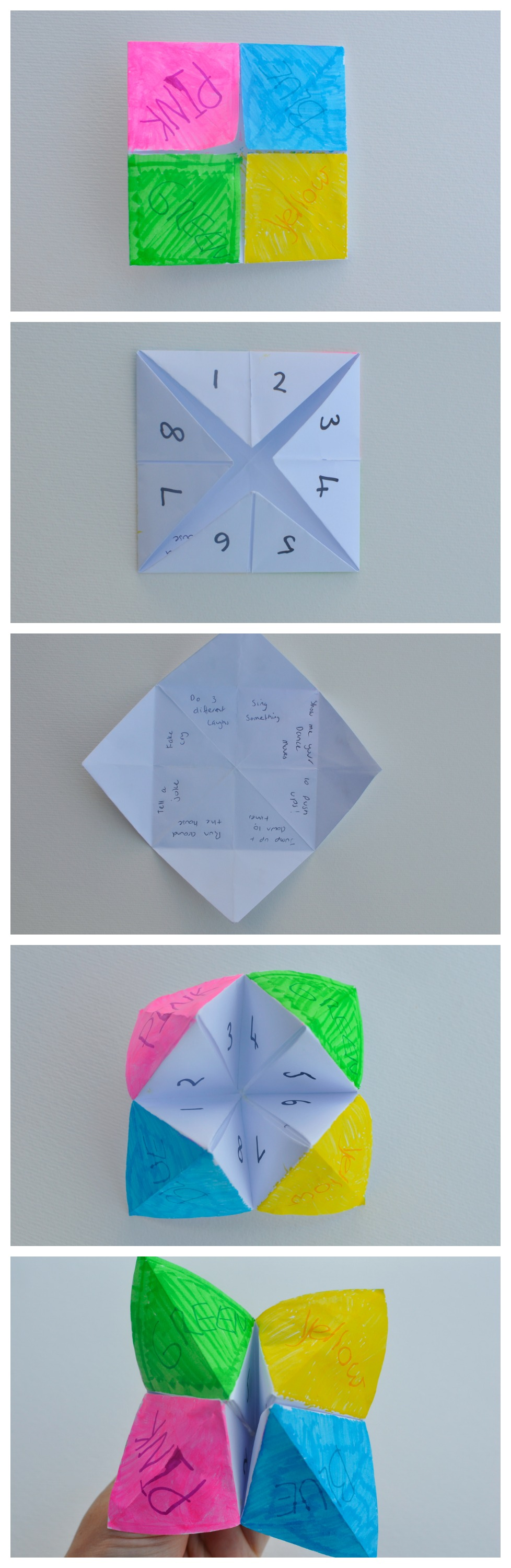 How to make a Chatterbox - and ideas for what to write inside