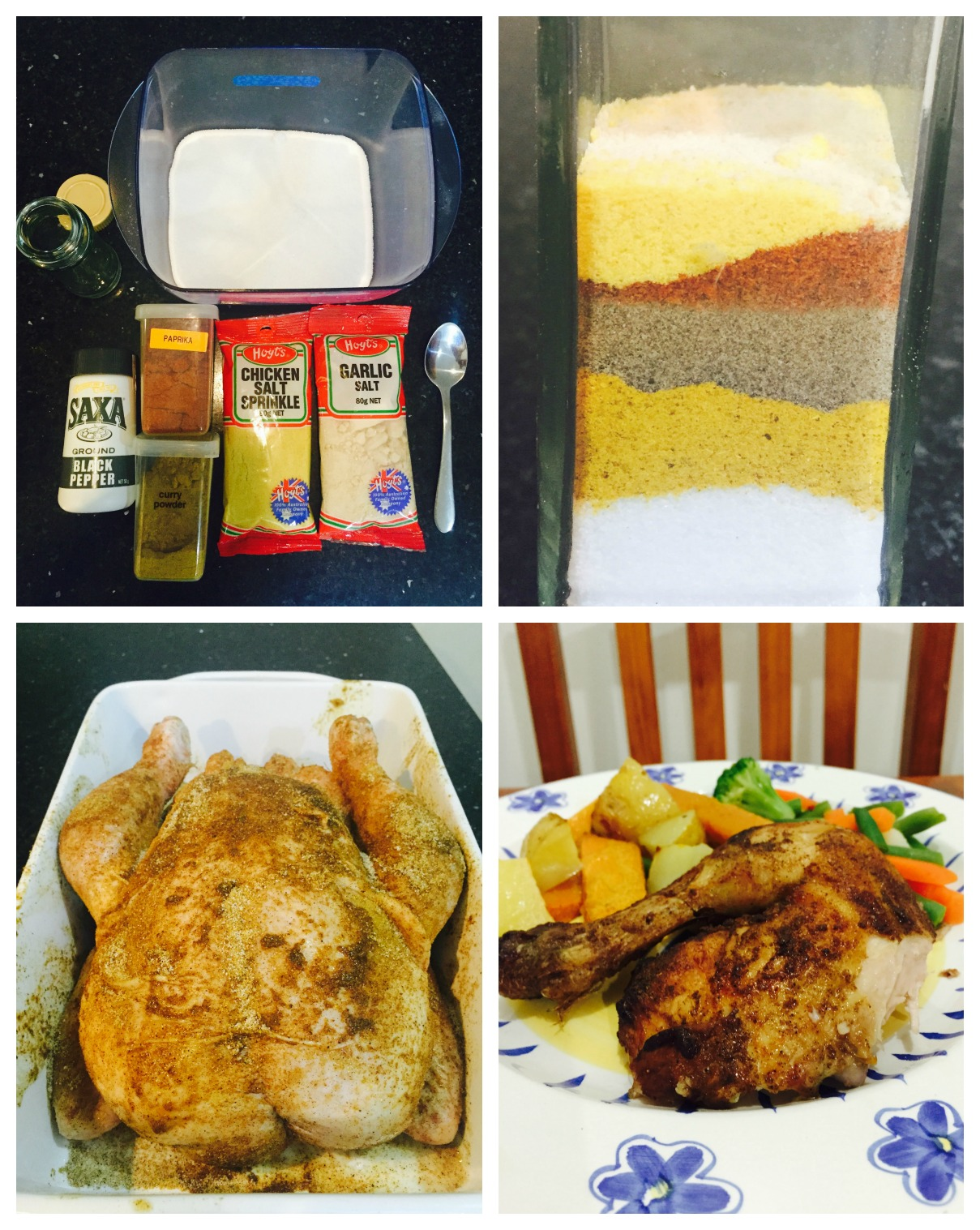 How to make your own BBQ Chicken Seasoning Mixture