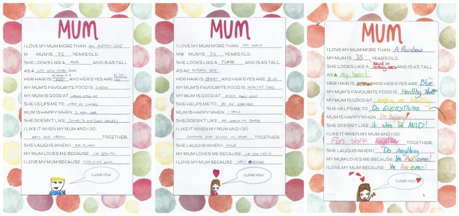I love my mum because