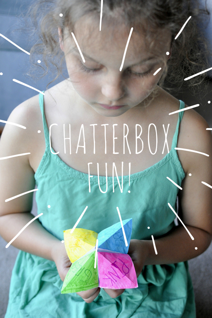 How to make a Chatterbox - Classic game and so much fun