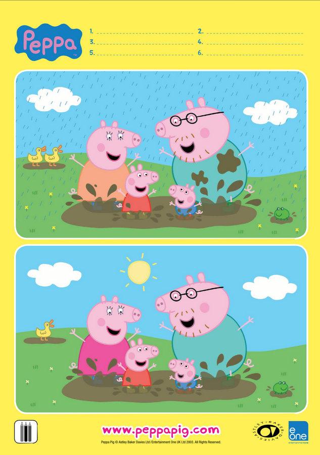 Peppa Pig Winter Activities & Colouring | Be A Fun Mum